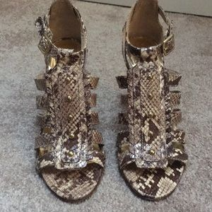 Coach Python Gladiator Heels